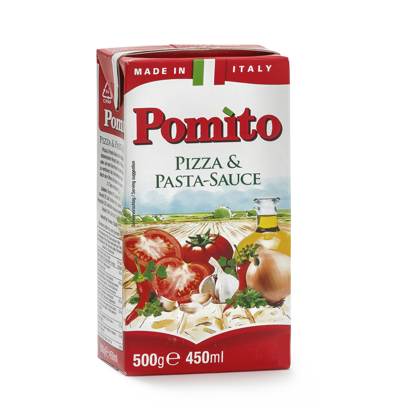 Aromatische Pizza Sauce Aus Tomaten Pomito